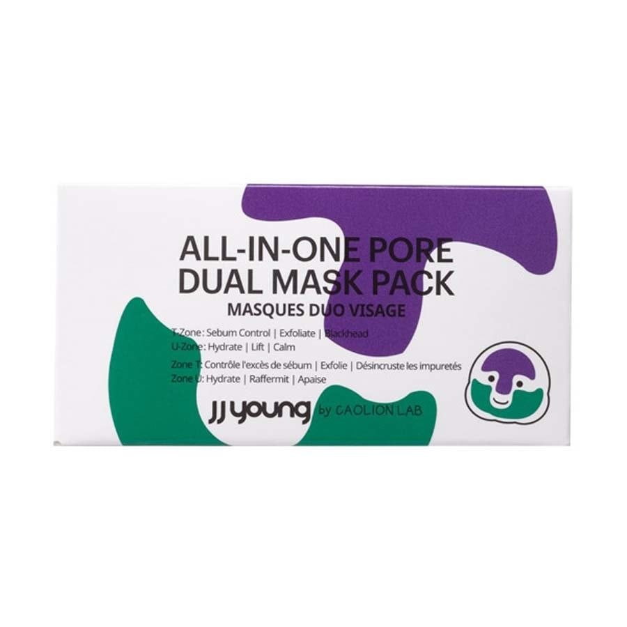 JJ Young by Caolion All in One Pore Dual Mask Pack
