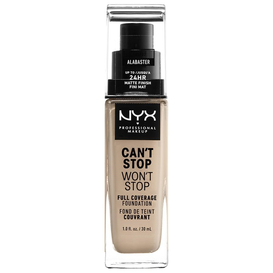 NYX Professional Makeup Can't Stop Won't Stop Full Coverage