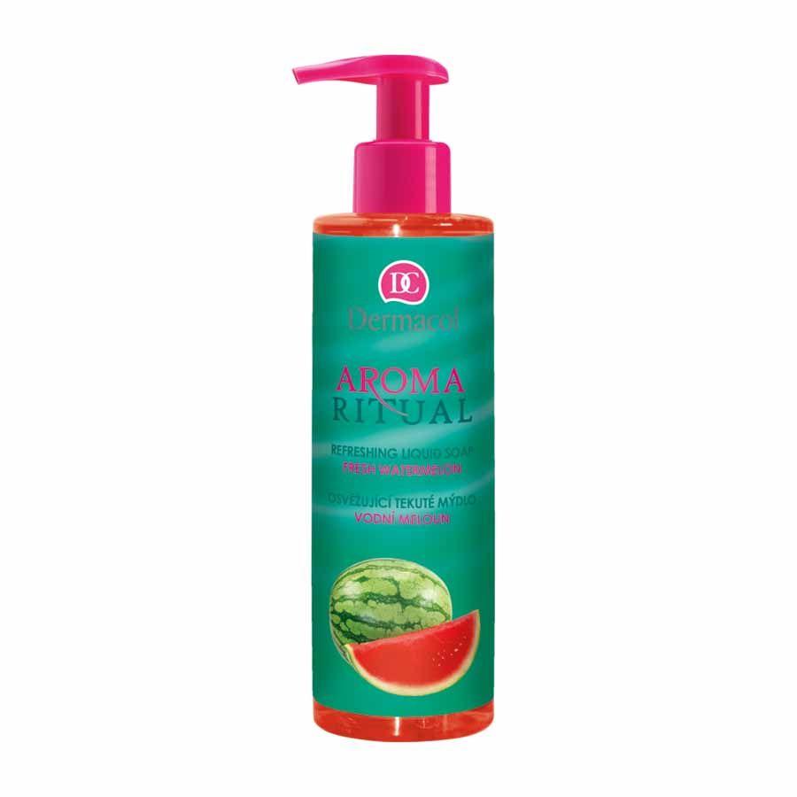 Dermacol Aroma Ritual osvěžující tekuté mýdlo Vodní meloun