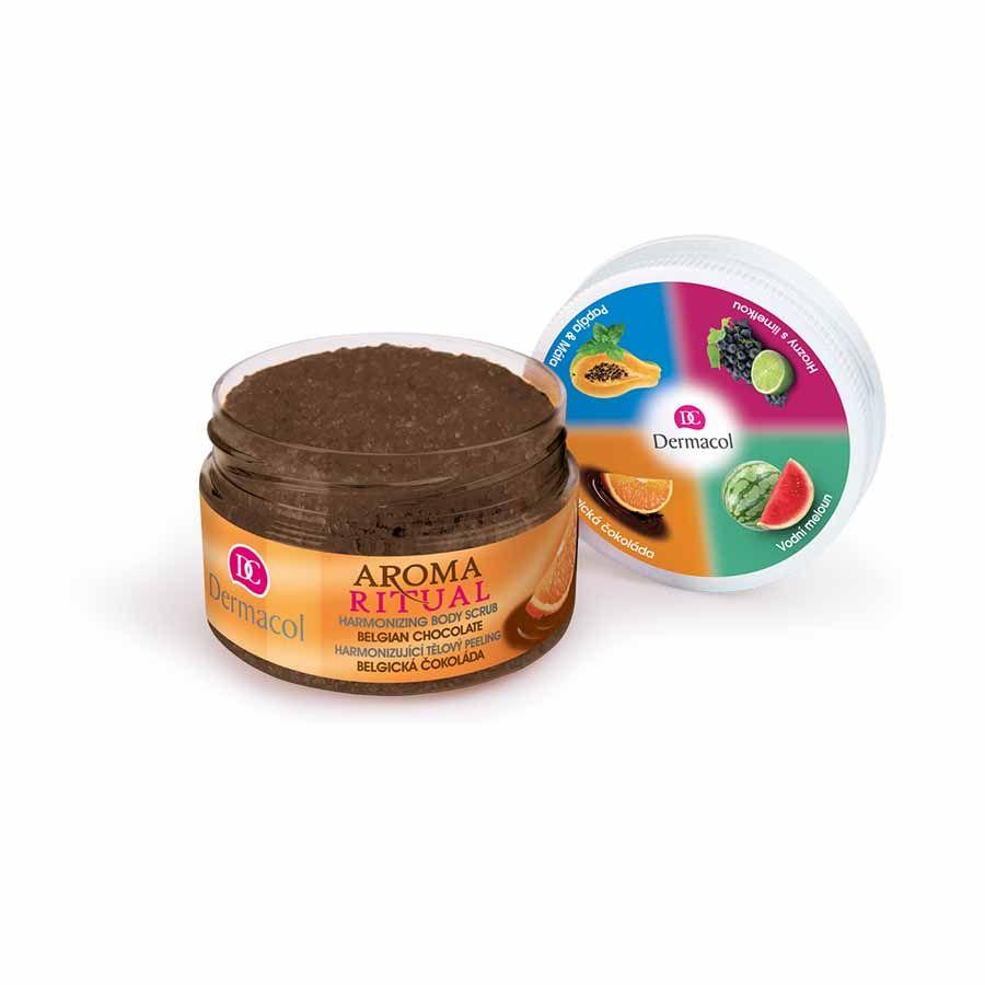 Dermacol Aroma Ritual - peeling Belgická čokoláda