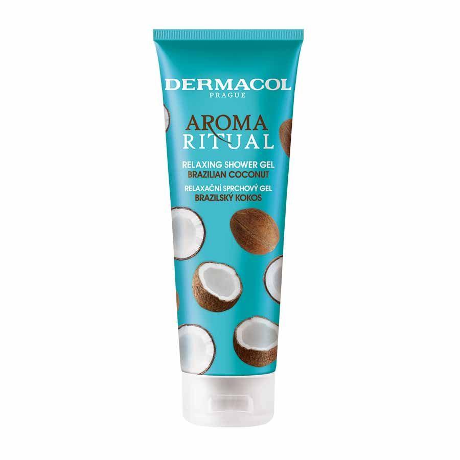 Dermacol Aroma Ritual - relaxační sprchový gel brazilský kokos