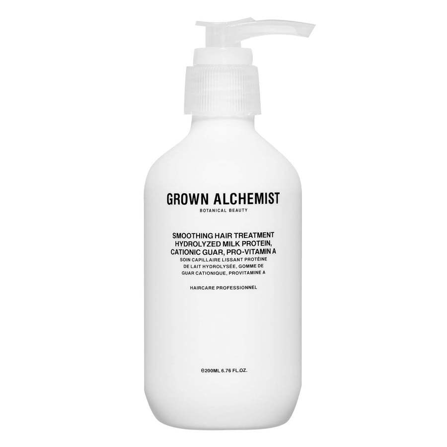 Grown Alchemist Smoothing Hair Treatment: Hydrolyzed Milk Protein, Cationic Guar, Pro-Vitamin A