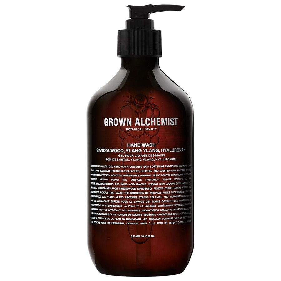 Grown Alchemist Hand Wash – Sandalwood, Ylang Ylang, Hyaluronan