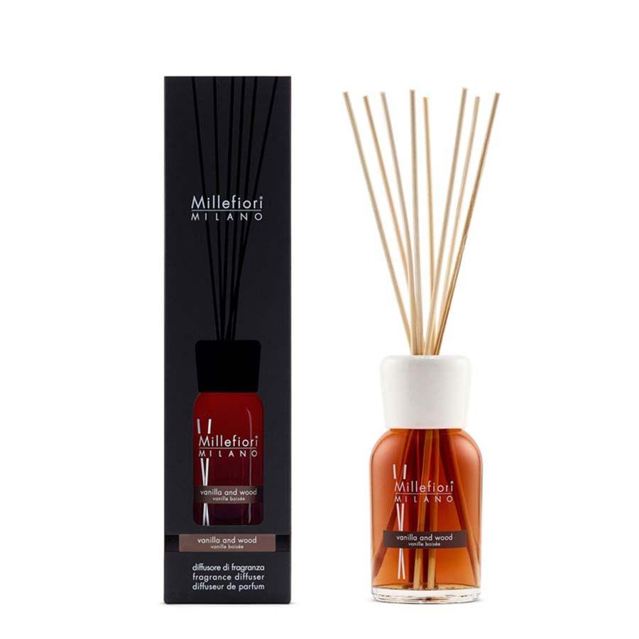 Millefiori Millefiori Natural Vanilla & Wood aroma difuzér 250 ml