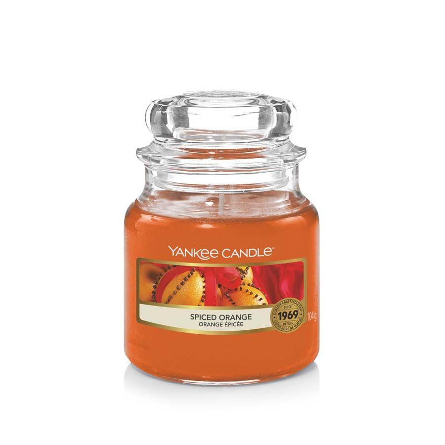 Yankee Candle Spiced Orange vonná svíčka classic malý