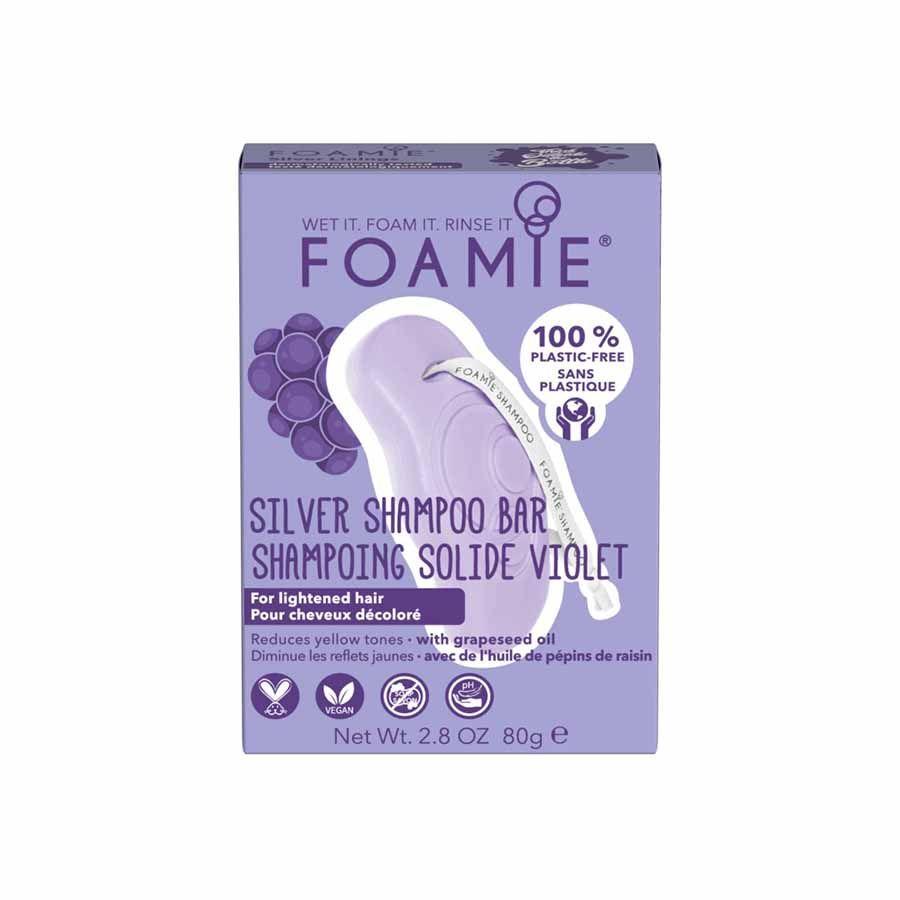 FOAMIE Silver Linings (silver shampoo for blonde hair)