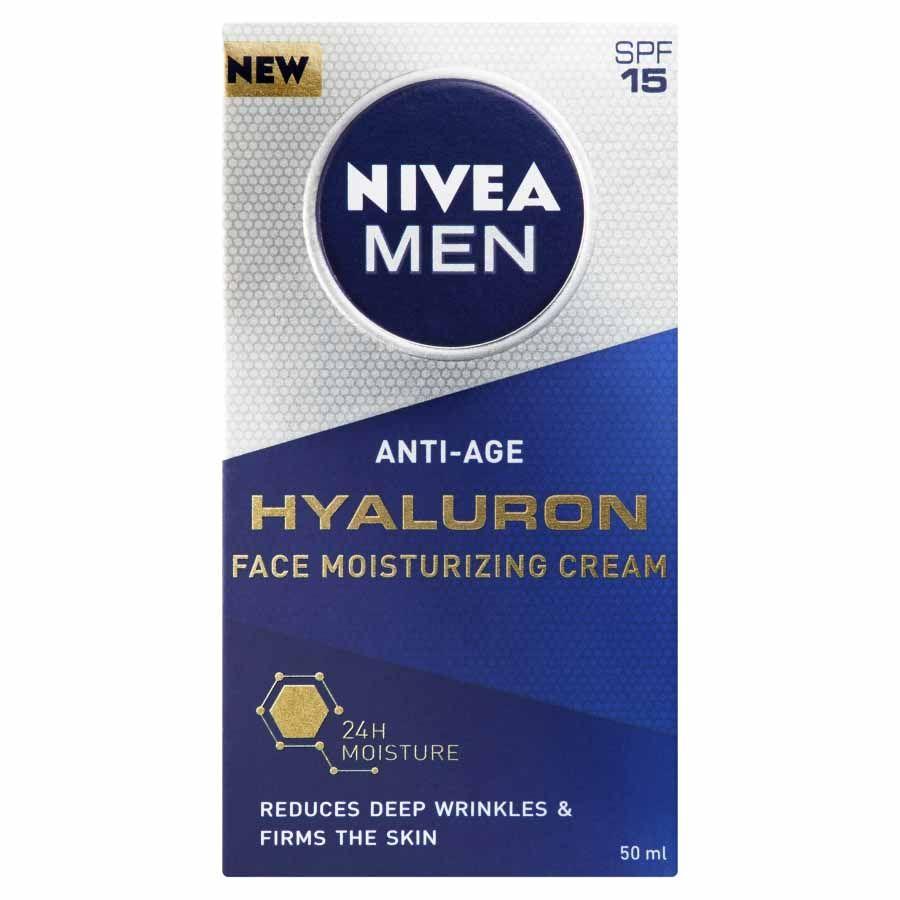 Nivea Nivea Men Hydratační krém proti vráskám Hyaluron