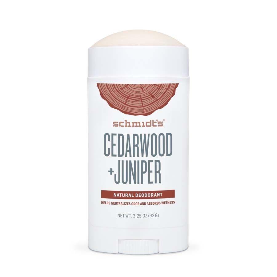Schmidt's Naturals Cedarwood + Juniper stick