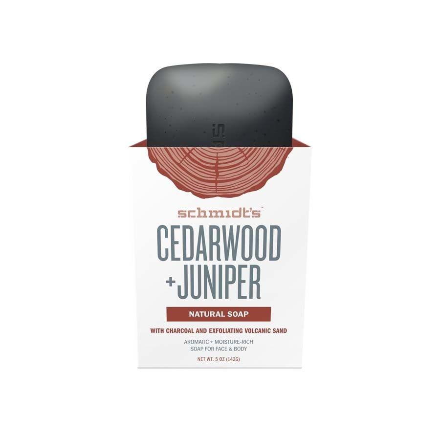 Schmidt's Naturals Cedarwood + Juniper Soap