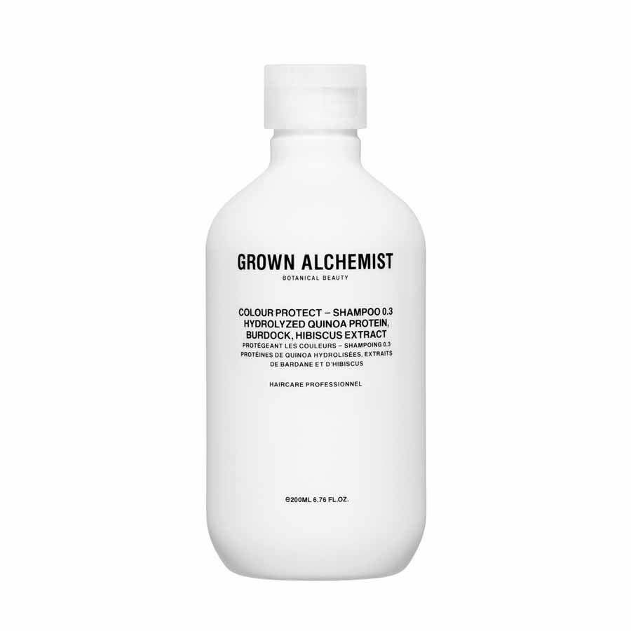 Grown Alchemist Colour Protect — Shampoo 0.3: Hydrolyzed Quinoa Protein, Burdock, Hibiscus