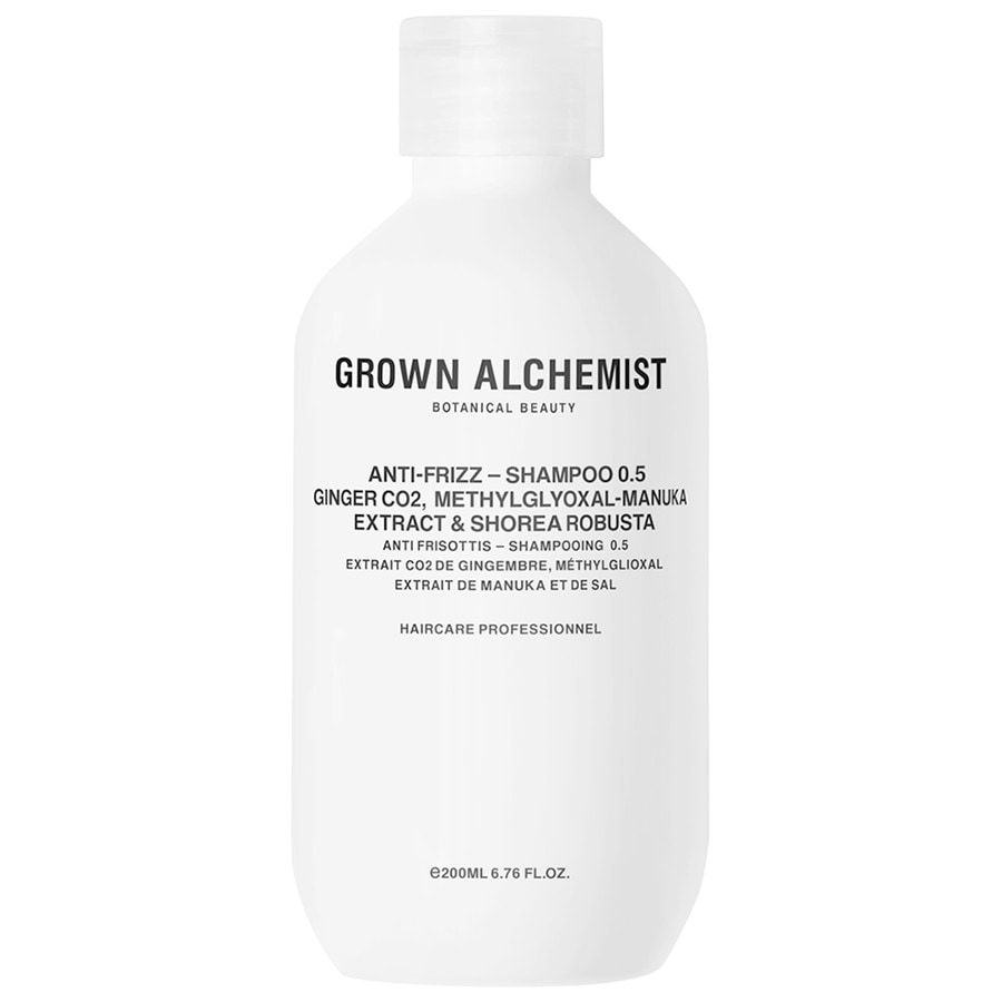 Grown Alchemist Anti-Frizz — Shampoo 0.5: Ginger CO2, Methylglyoxal-Manuka Extract, Shorea