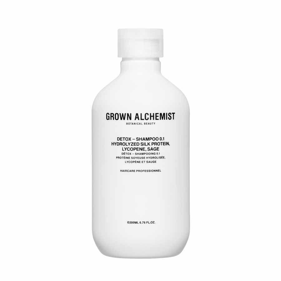 Grown Alchemist Detox — Shampoo 0.1: Hydrolyzed Silk Protein, Black Pepper,