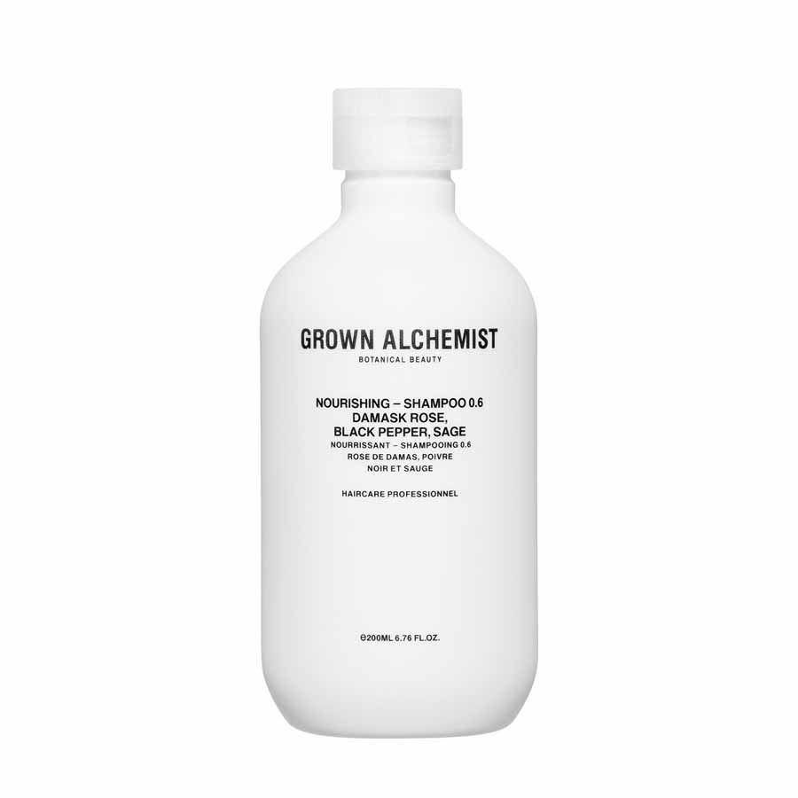 Grown Alchemist Nourishing — Shampoo 0.6: Damask Rose, Black Pepper & Sage