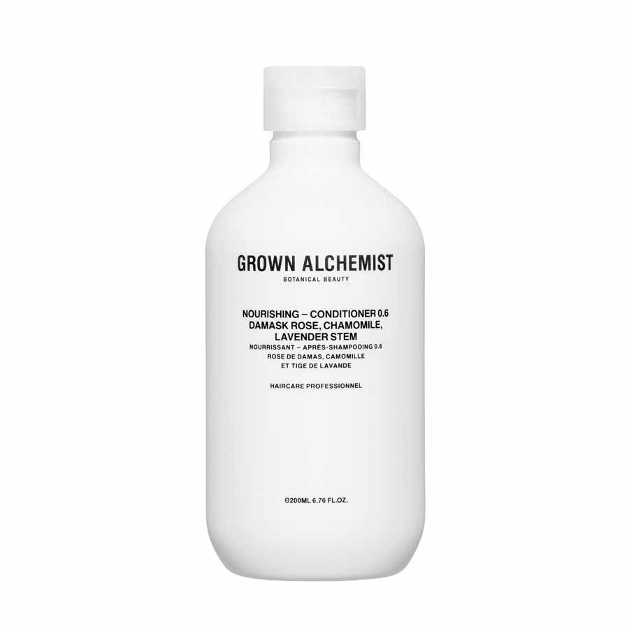 Grown Alchemist Nourishing — Conditioner 0.6: Damask Rose, Chamomile & Lavender Stem