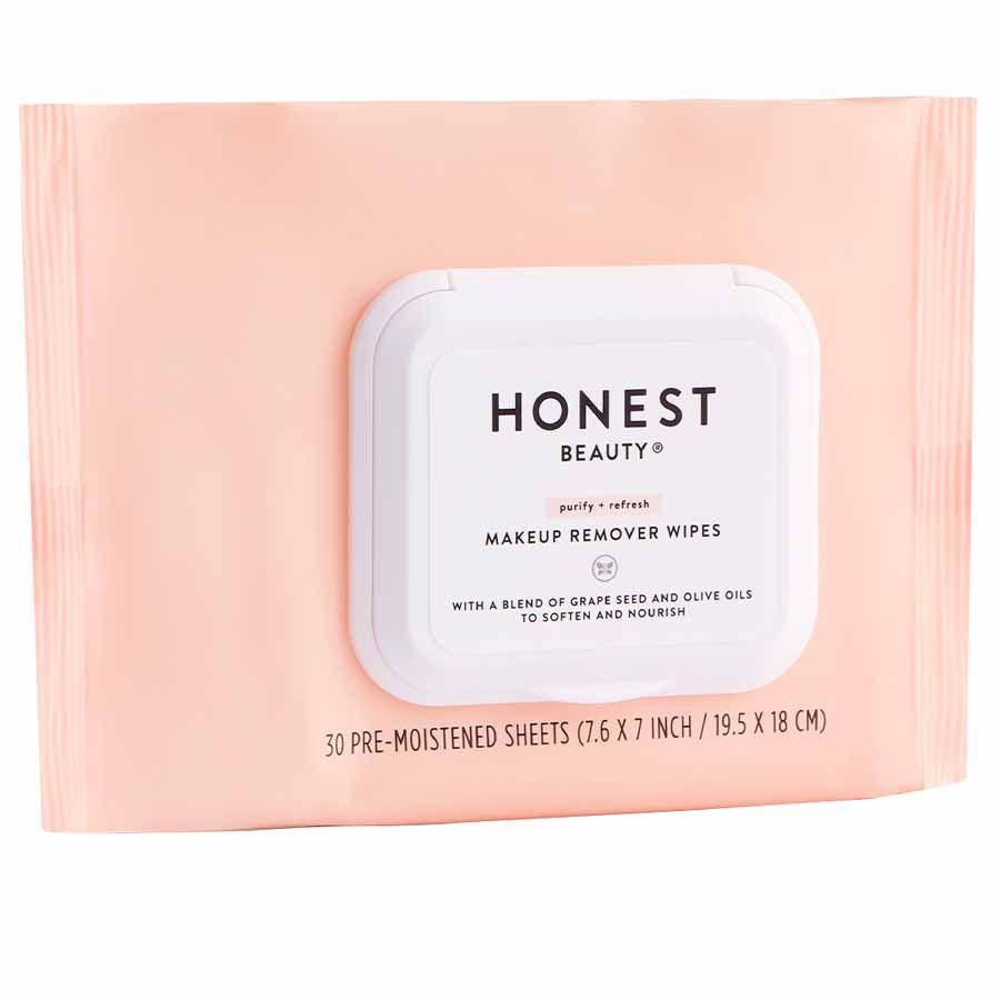 Honest Beauty Makeup Remover Wipes 30 ks