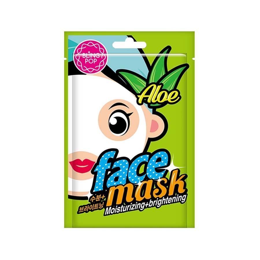Bling Pop Aloe Moisturizing + Brightening Mask