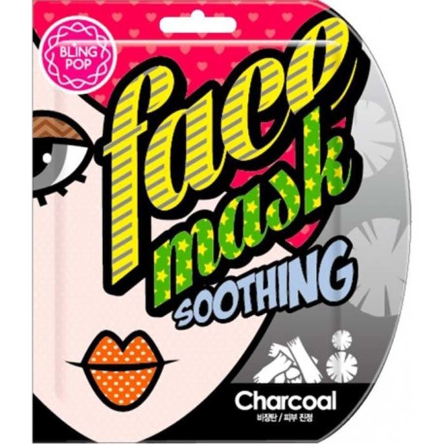 Bling Pop Charcoal Soothing Mask