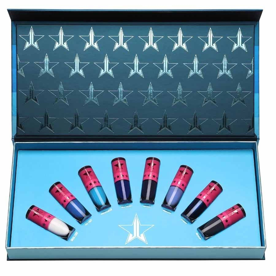 Jeffree Star Cosmetics Mini Blue Blooded Velour Liquid Lipstick Bundle