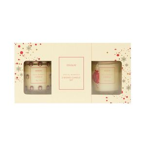 Douglas Collection 3 Wishes Candle Set