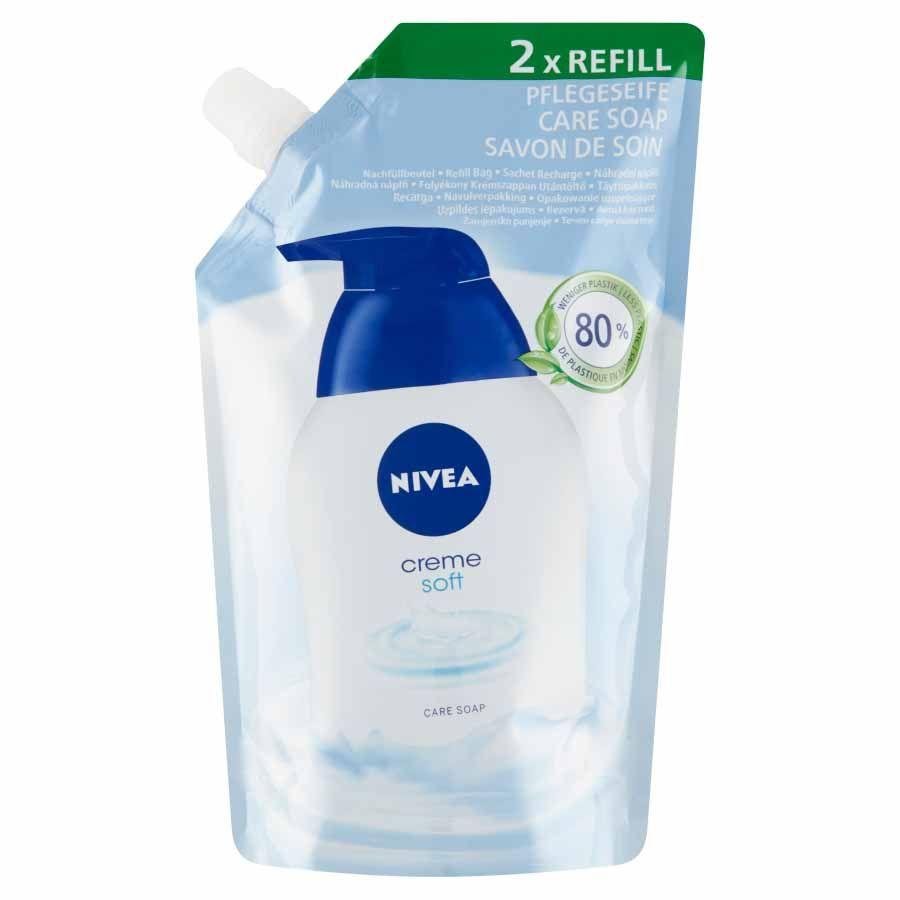 Nivea Krémové tekuté mýdlo Creme Soft 500 ml