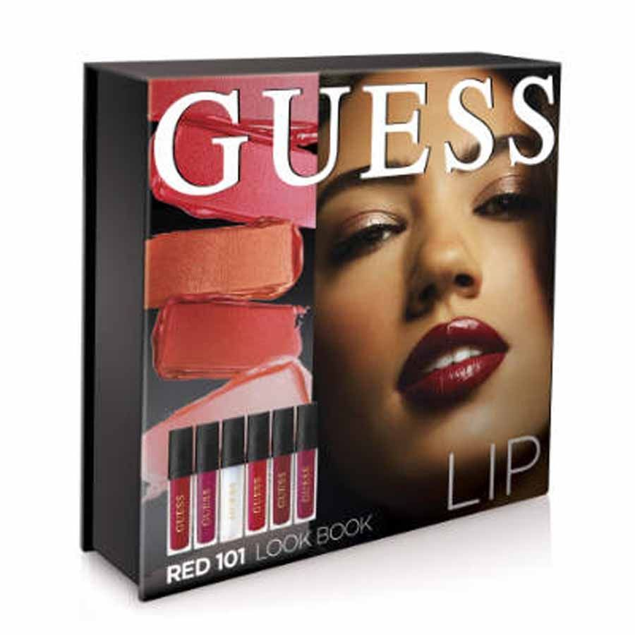 Guess Look Book Red 101 Lip Kit
