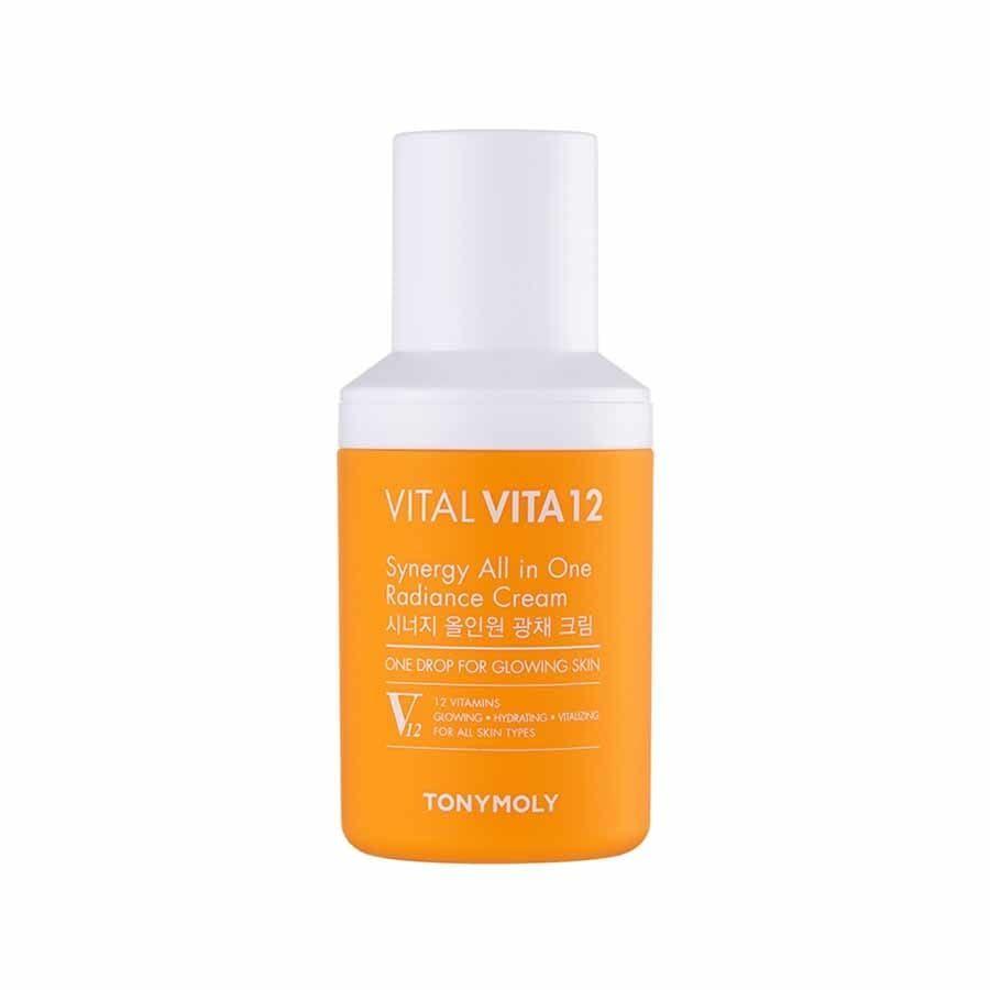 Tonymoly Vital Vita 12 Synergy All In One Radiance Cream