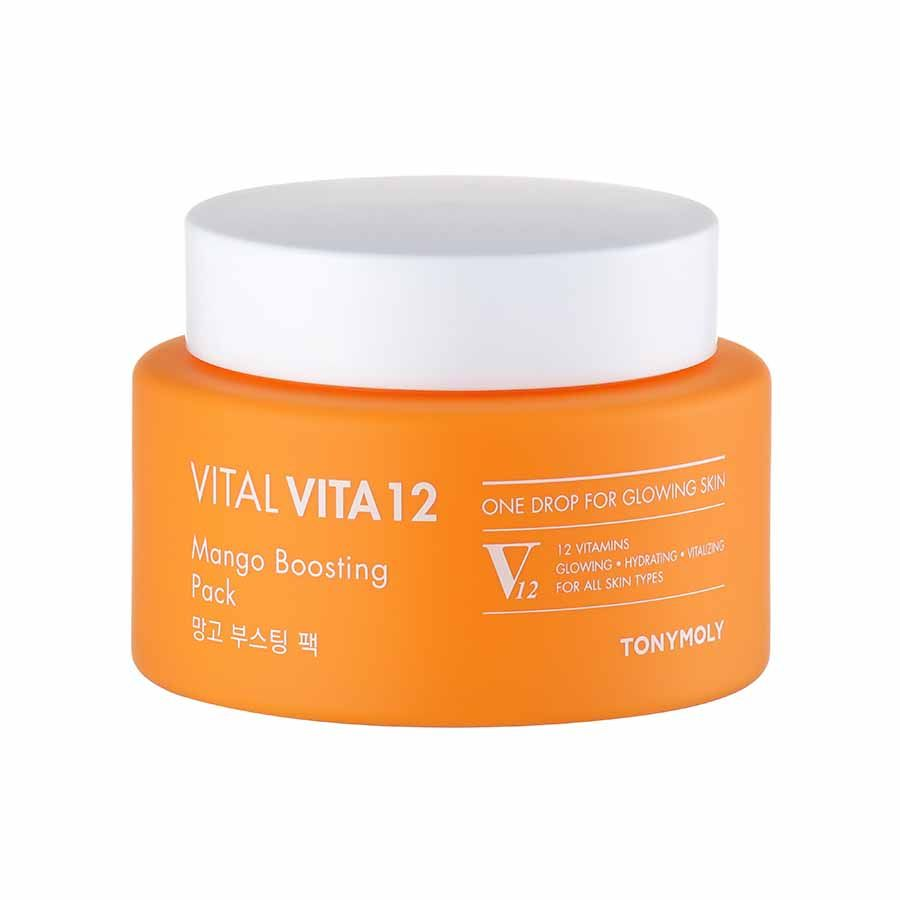 Tonymoly Vital Vita 12 Mango Boosting Mask