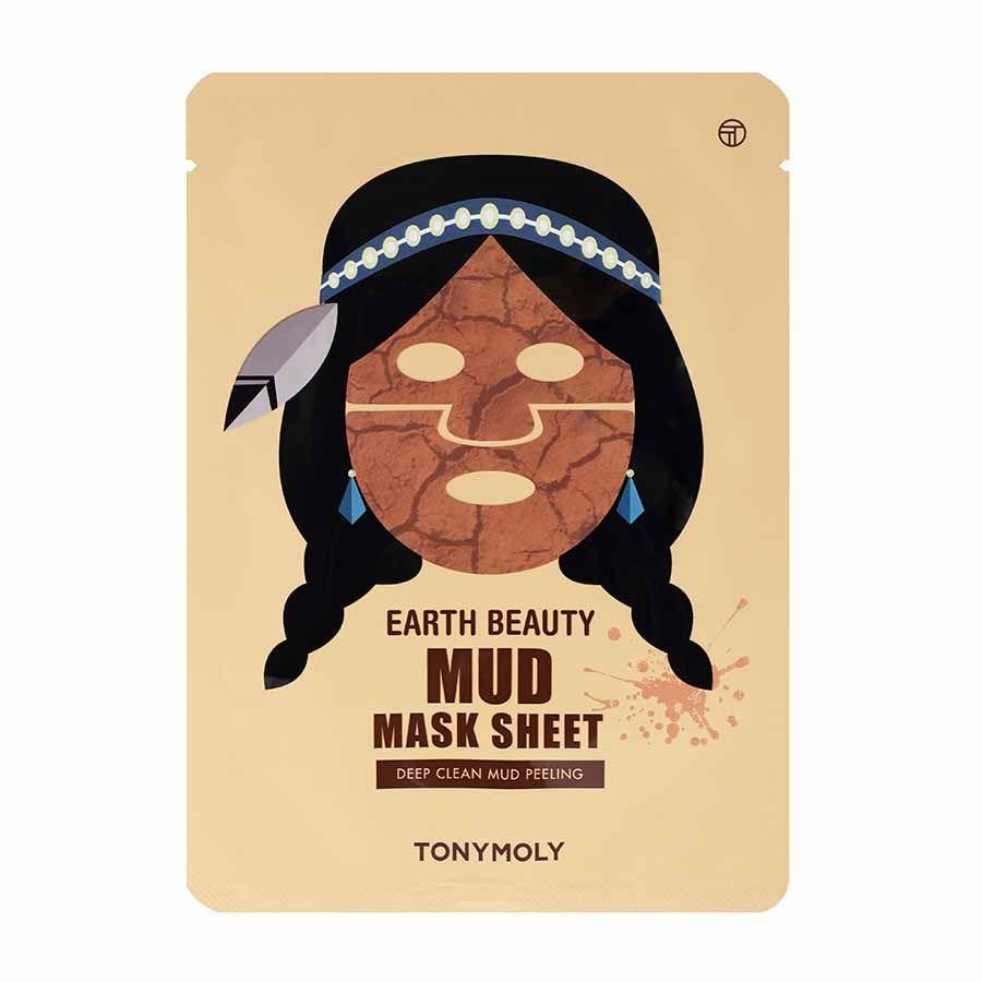 Tonymoly Earth Beauty Mud Mask Sheet