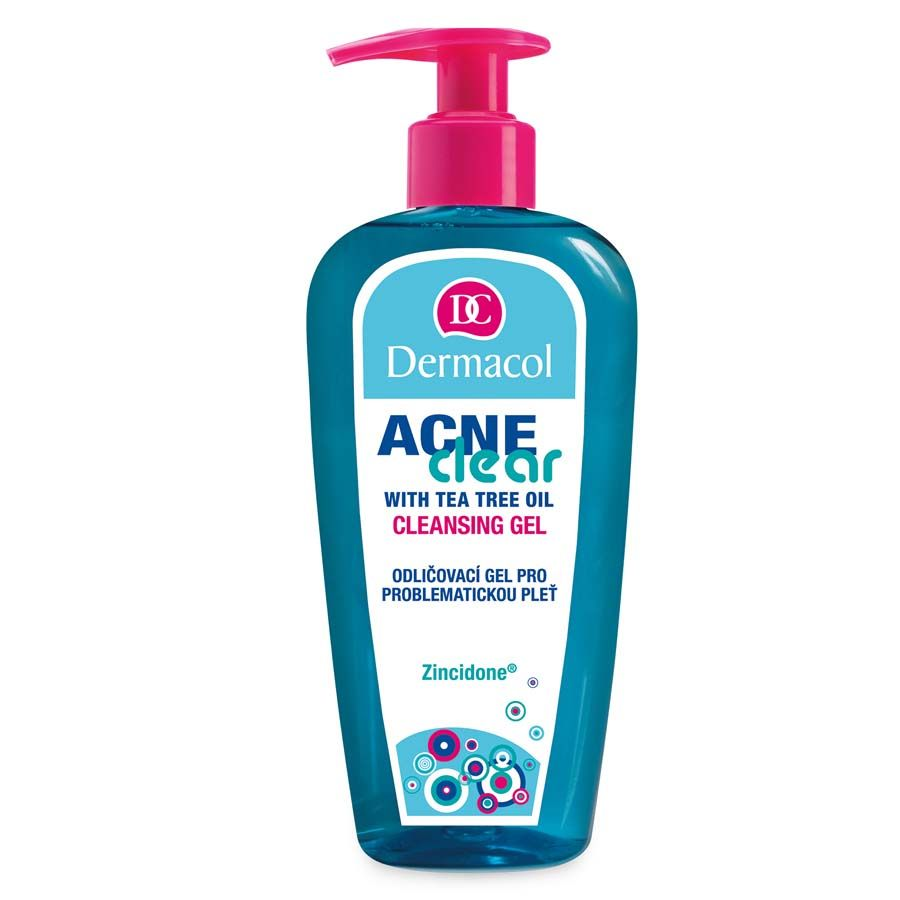 Dermacol Acneclear Make-up removal and cleansing gel