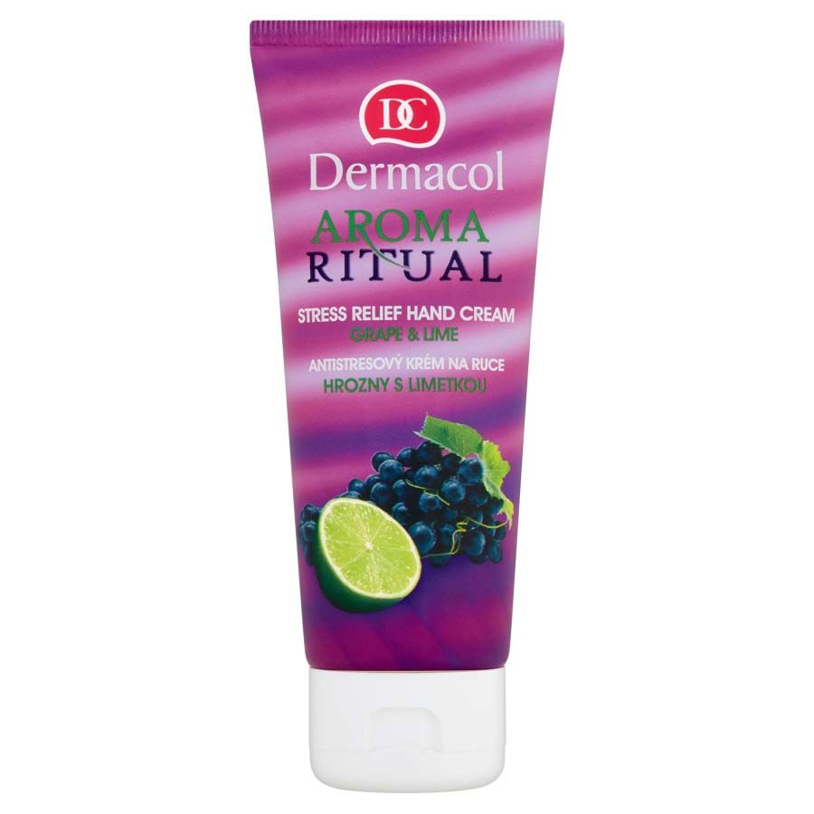 Dermacol Aroma Ritual Stress Relief Hand cream Grape and Lime