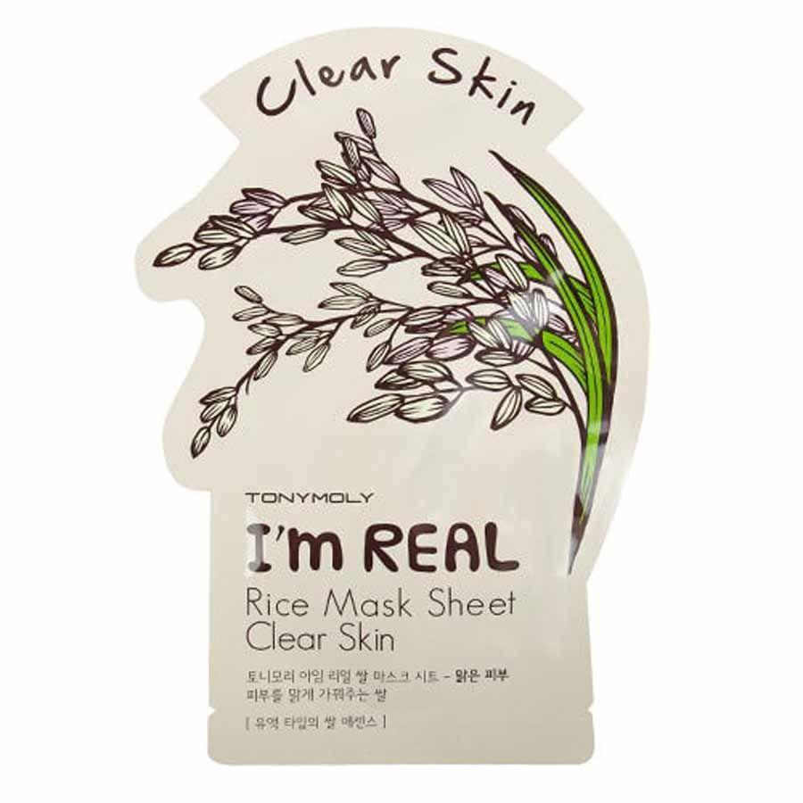 Tonymoly I'm Real Rice Mask Sheet