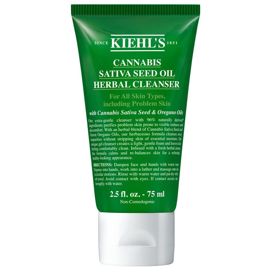 Kiehl's Cannabis Sativa Seed Oil Herbal Cleanser