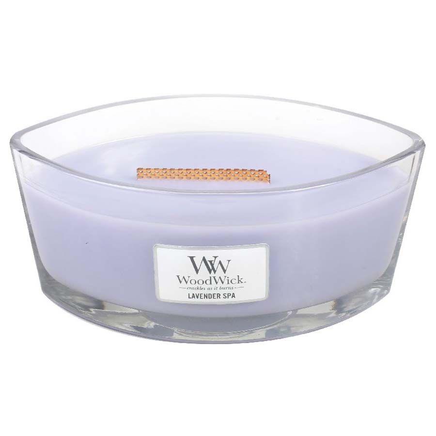 Woodwick WoodWick Lavender Spa svíčka loď