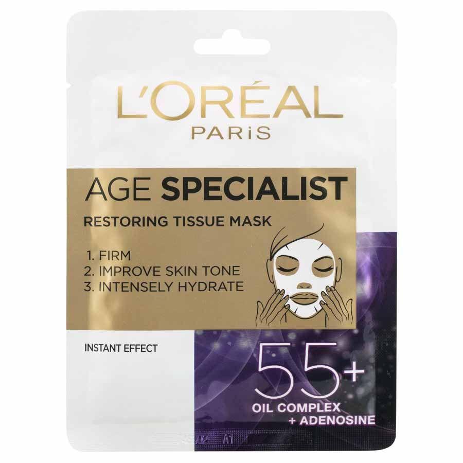 L´Oréal Paris Age Specialist 55+ textilná maska