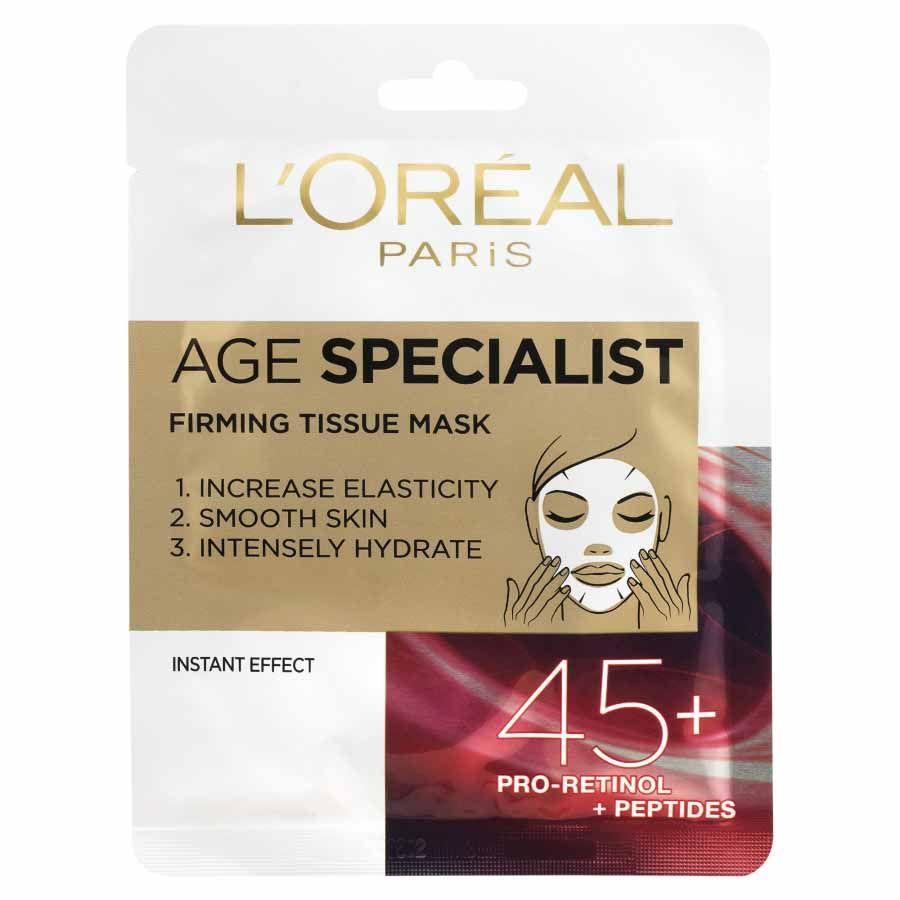 L´Oréal Paris Age Specialist textilní maska 45+