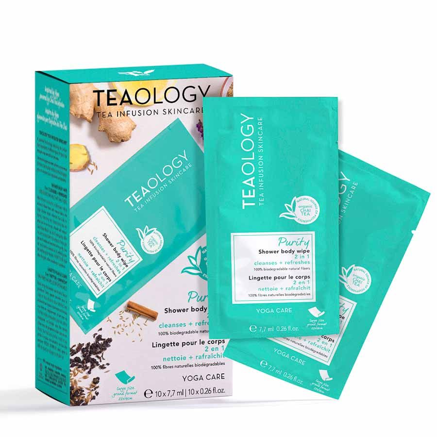Teaology Yoga Care Shower Body Wipe