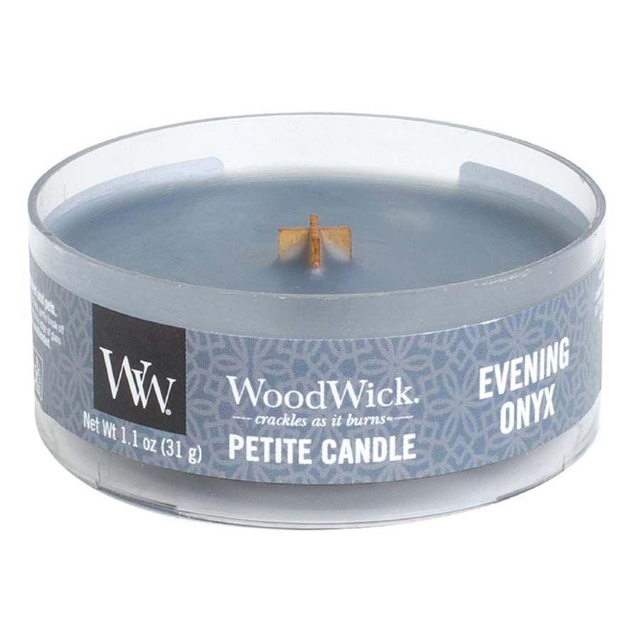 Woodwick Woodwick Evening Onyx svíčka petite