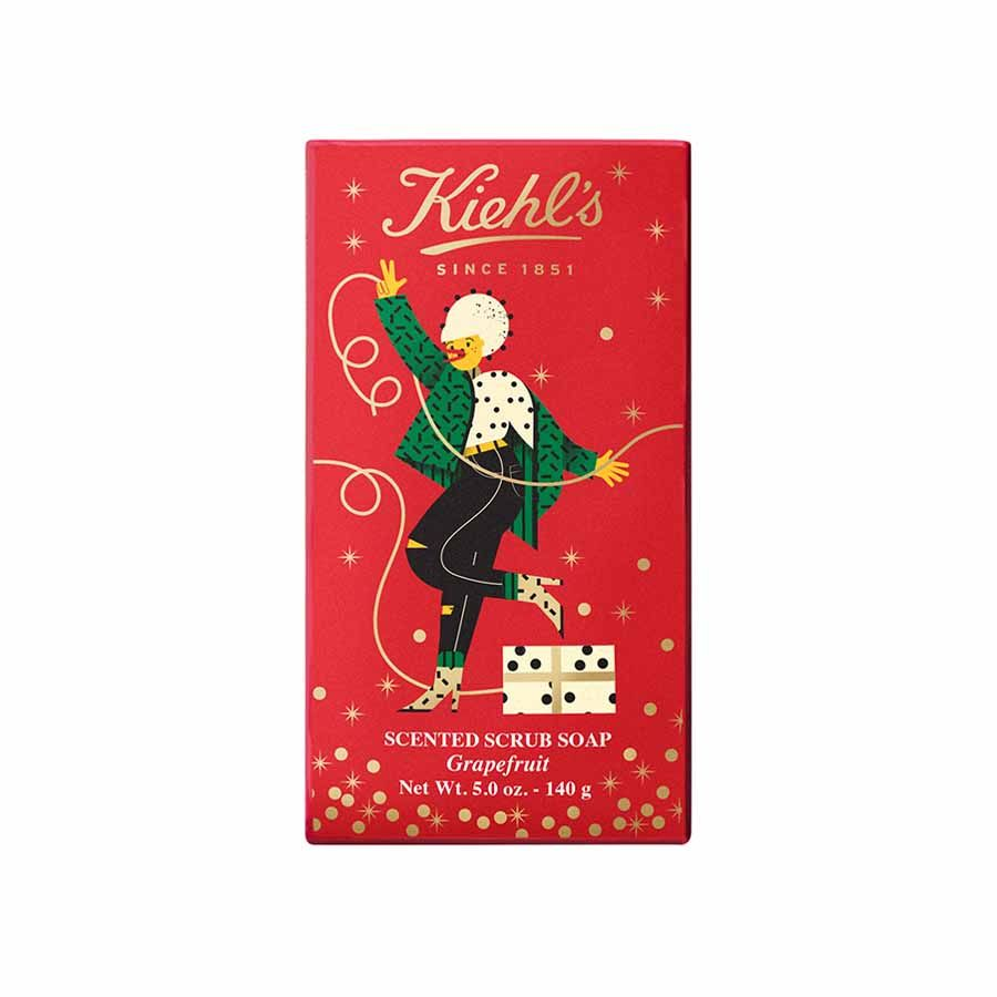 Kiehl's Scented Body Scrub Soap Grapefruit Limited Edition 2020