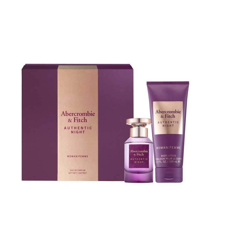 Abercrombie & Fitch Authentic Night Woman Set (50 ml)