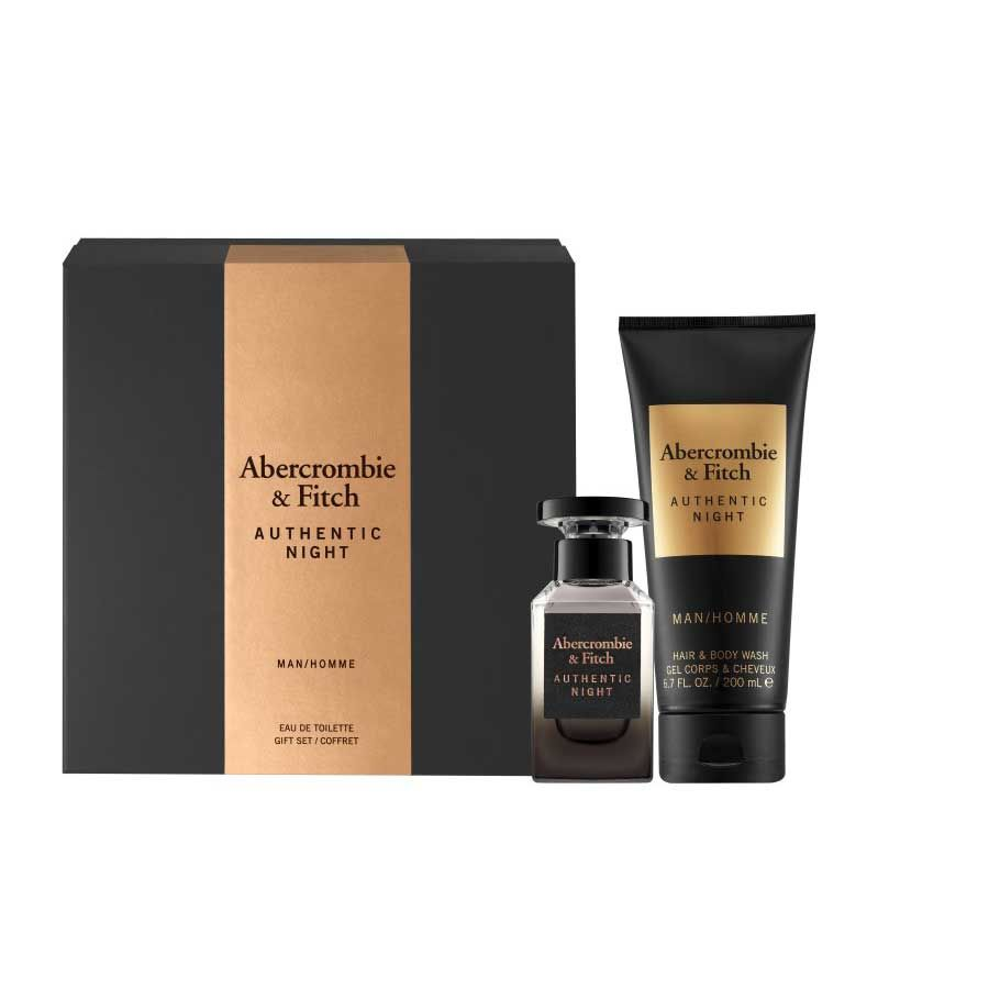 Abercrombie & Fitch Authentic Night Man Set (50 ml)