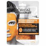 L´Oréal Paris Men Expert Hydra Energetic textilní maska pro muže