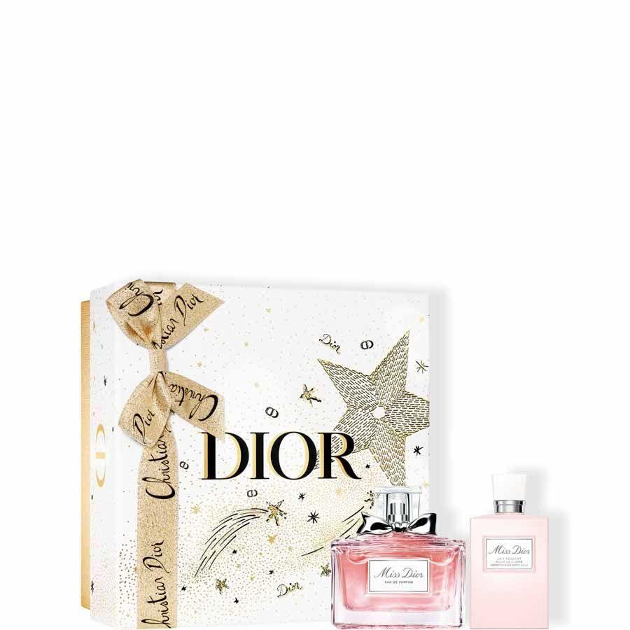 DIOR Miss Dior Fragrance Set - Eau de Parfum (50 ml) a tělové mléko (75ml) - Dárkové balení