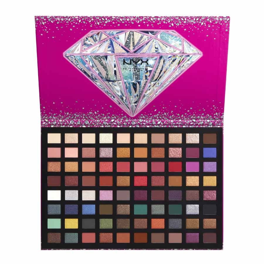 NYX Professional Makeup Diamonds&Ice 100 Gems Eyeshadow Palette
