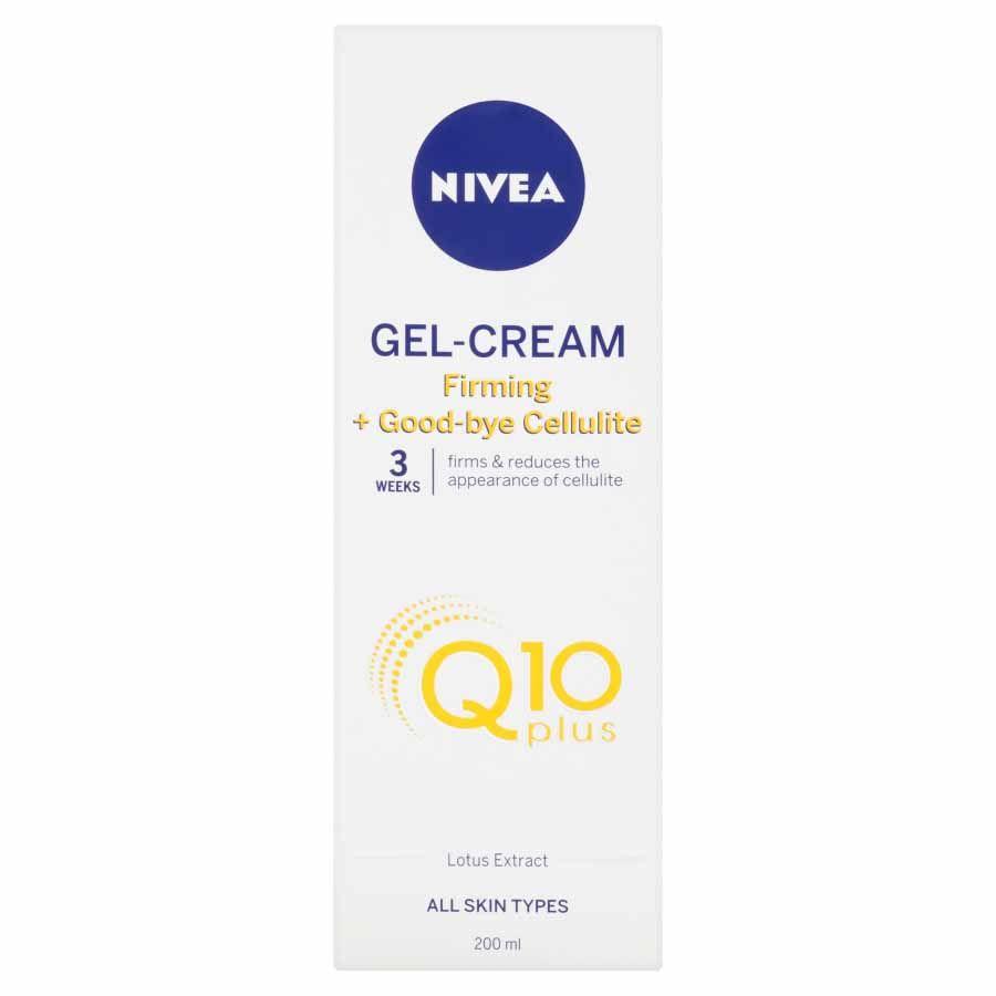 Nivea Zpevňující gel proti celulitidě Q10 Energy
