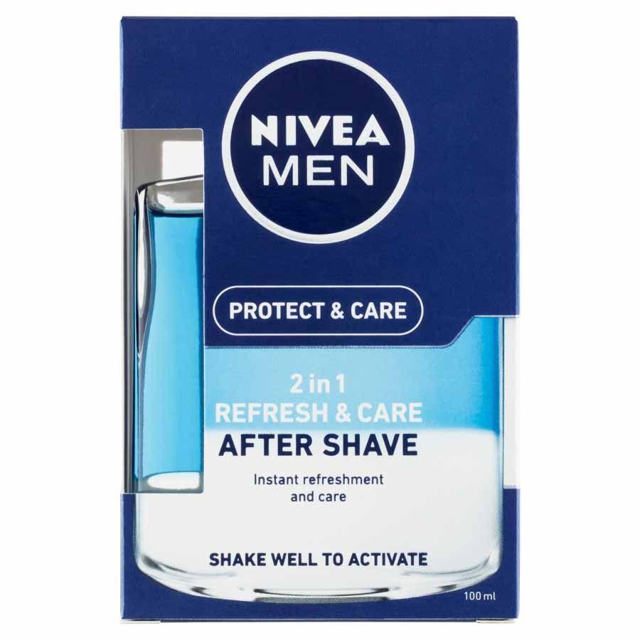 Nivea Nivea Men Pečující voda po holení 2v1 Protect & Care