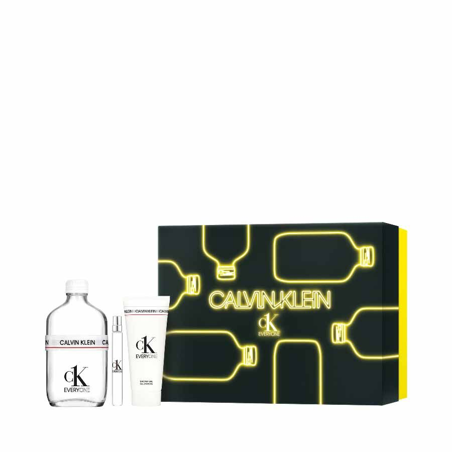 Calvin Klein CK Everyone EDT 200ml + SHOWER GEL 100ml + TRAVEL SPRAY 10ml