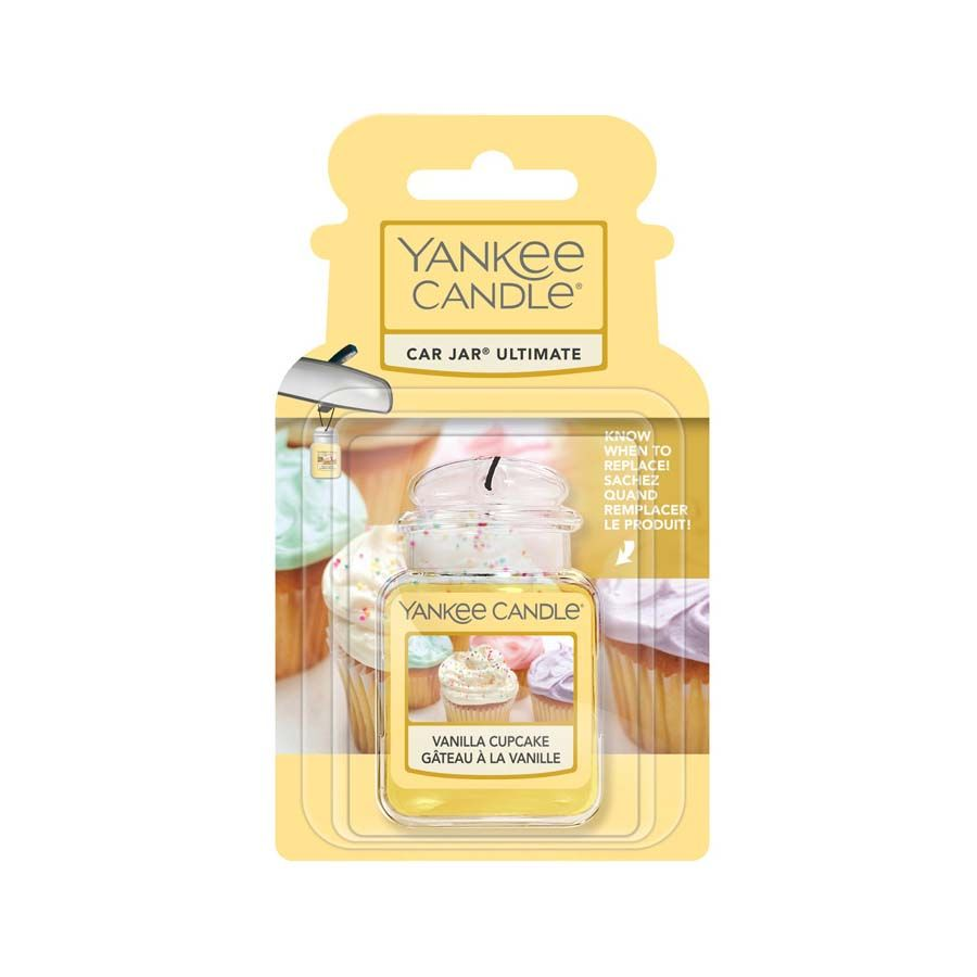 Yankee Candle Vanilla Cupcake vůně do auta - luxusní visačka