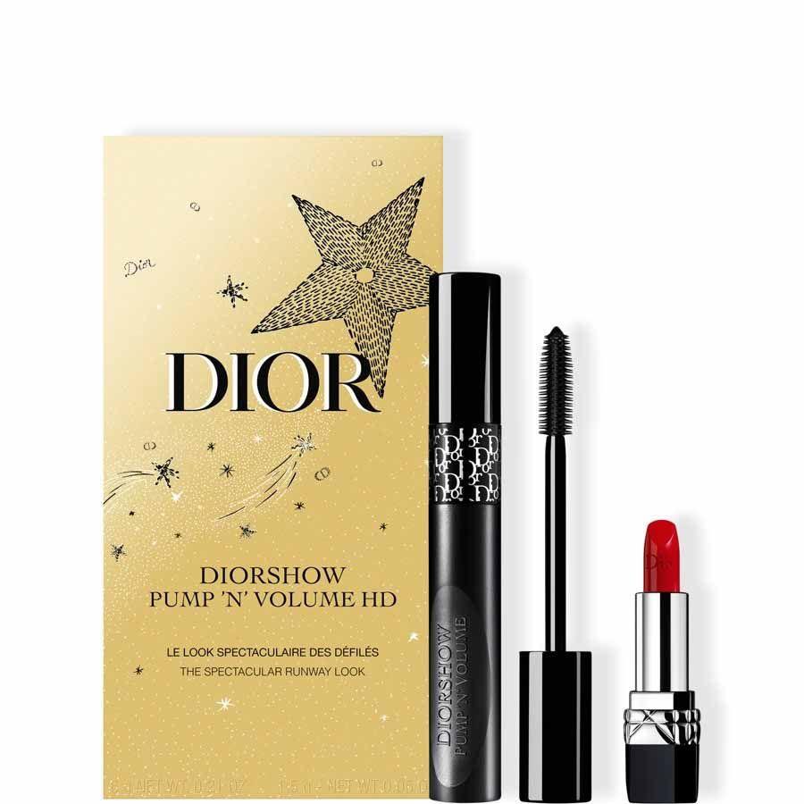 DIOR Dior Holiday Couture Collection - Sada řasenky a rtěnky