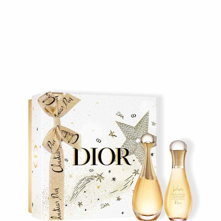DIOR J'adore Eau de parfum + Tělový olej J'adore - Dárkové balení