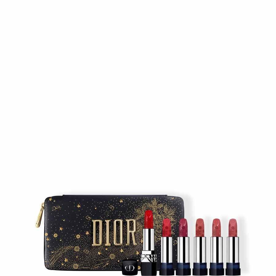DIOR Rouge Dior Golden Nights - doplnitelný set rtěnek - 6 odstínů